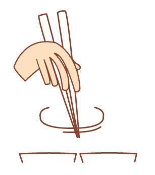 Chopsticks manners&taboos; you can be a Chopstick Master!_wasabi_2